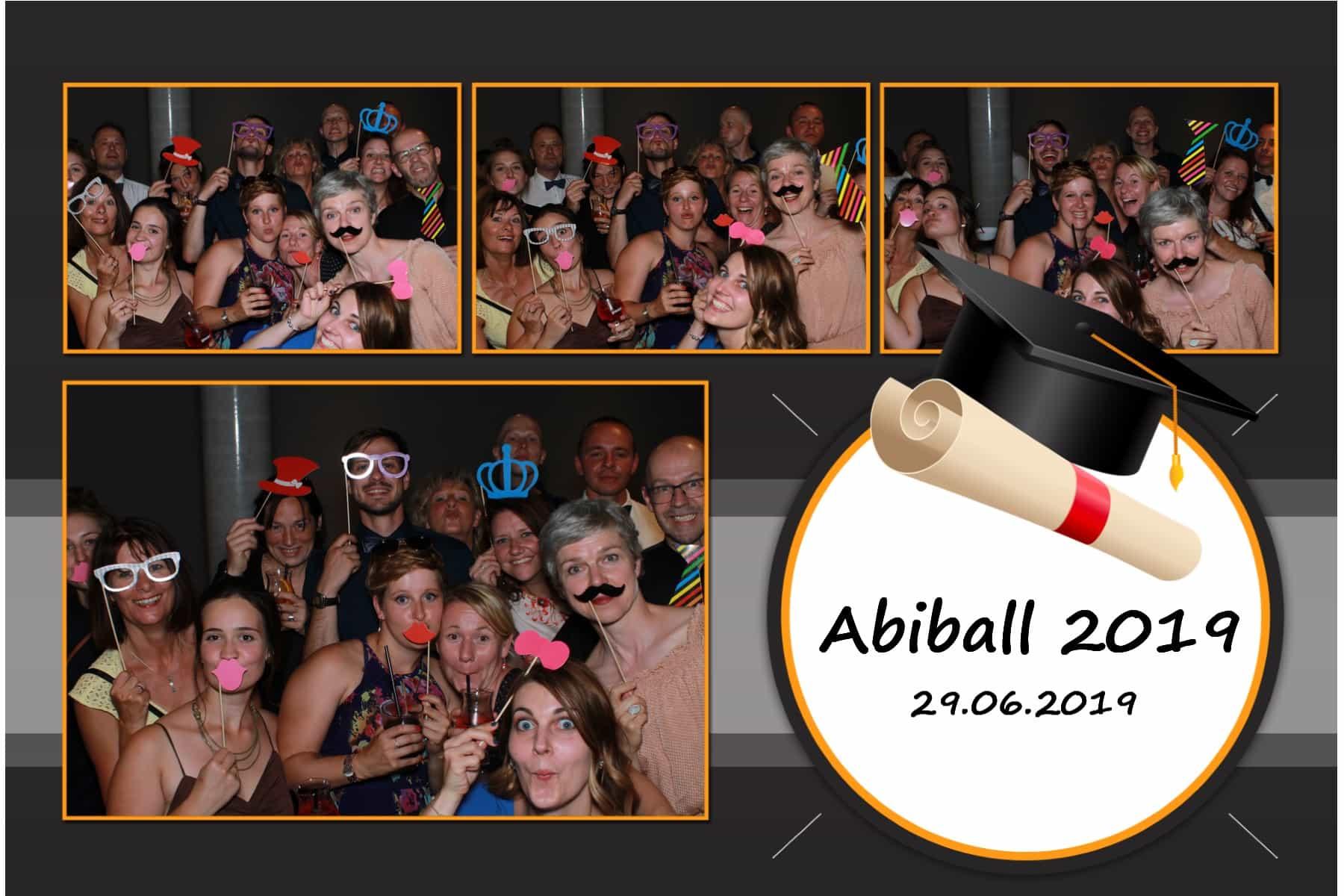 Fotobox-Vermietung Beispielfoto Abiball