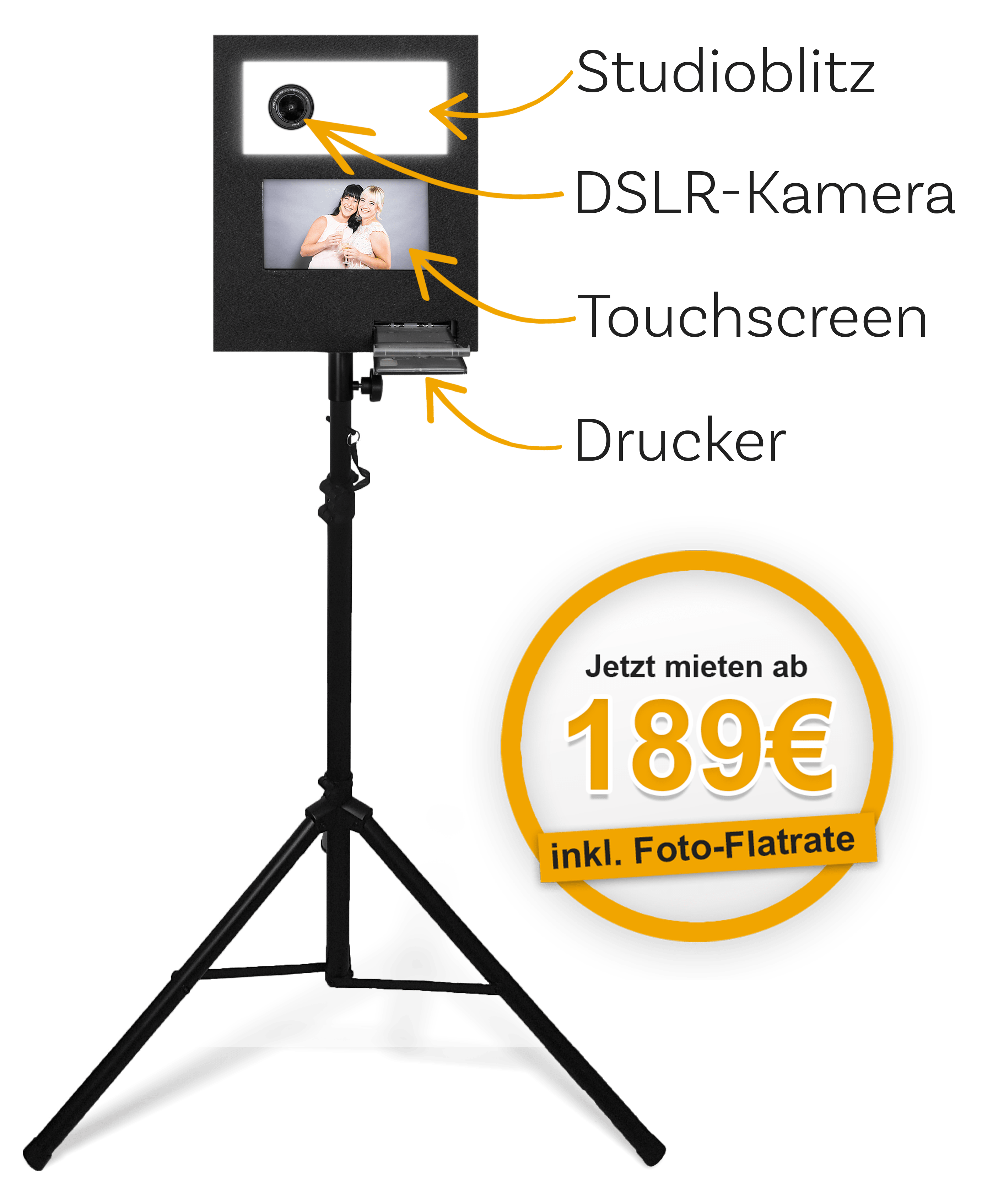 Fotobox-Vermietung Leipzig Halle